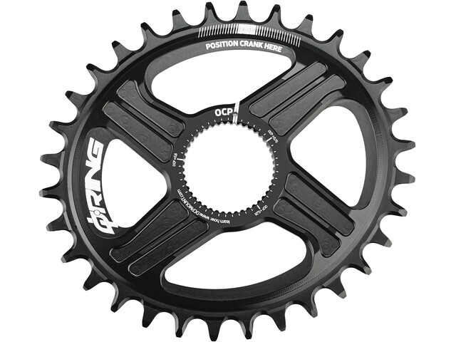 Rotor Q-Ring Direct Mount MTB Drev R-Hawk/R-Raptor Svart